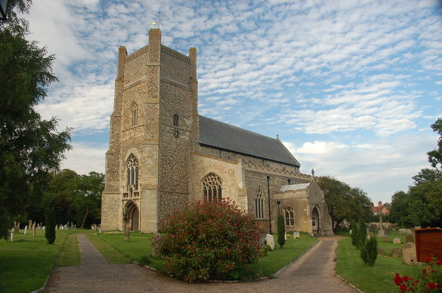 Parish Church of St Bartholomew, Orford. Suffolk.