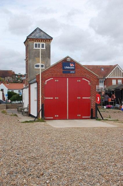 Aldeburgh Lifeboat Station.