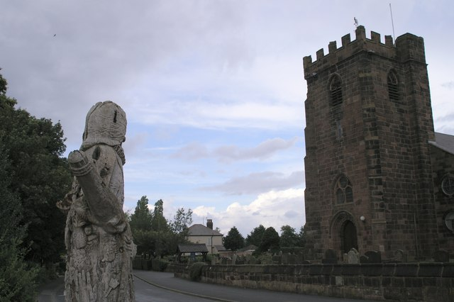 Childe of Hale and St Mary's Church