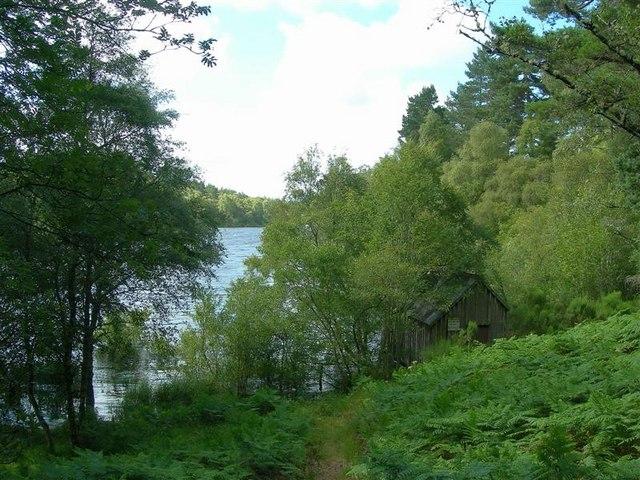 Fishing Hut at Loch Belivat