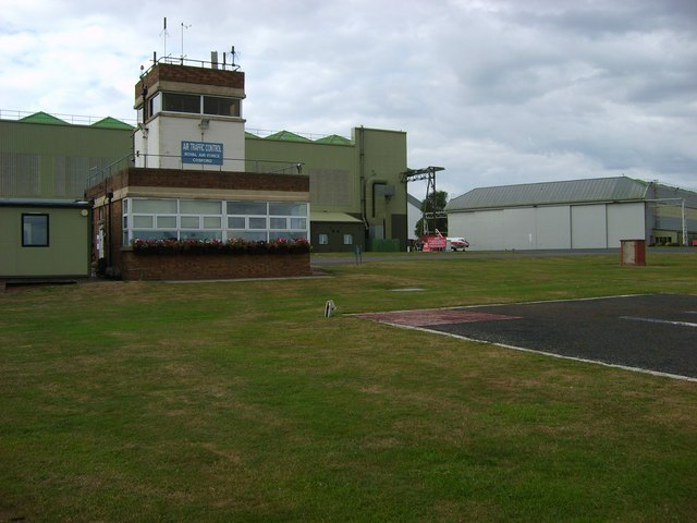 Air Traffic Control Tower and Hangar 2 at RAF Cosford