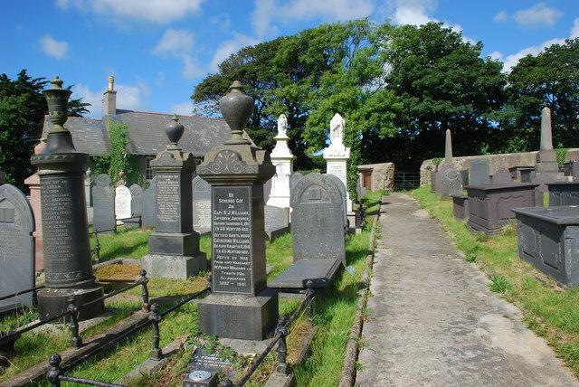 Mynwent  Capel y Bwlch Llanengan  Capel y Bwlch Graveyard