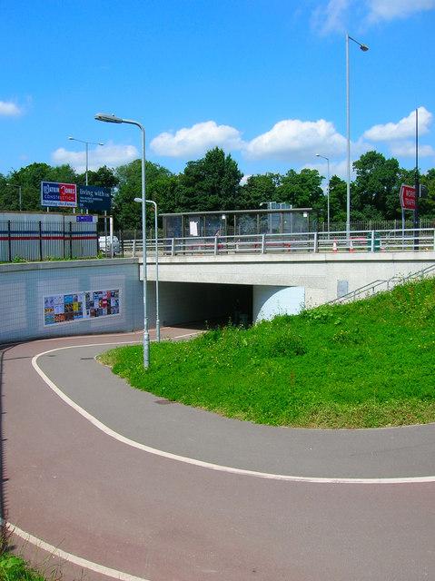 Underpass Entrance (Station Side)