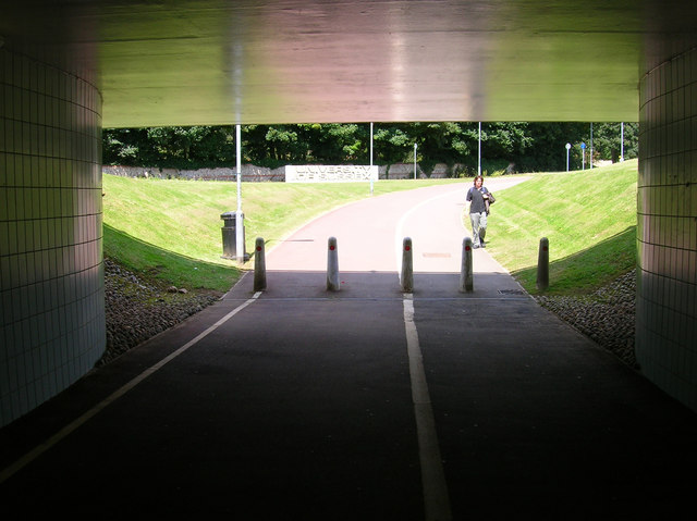 Underpass Entrance (University Side)