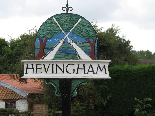 Hevingham Village Sign
