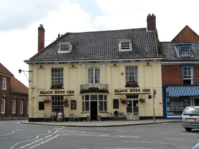 The Black Boys Inn, Aylsham
