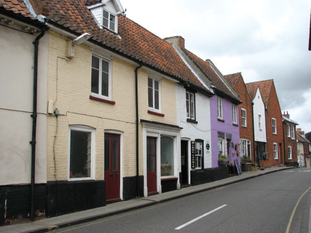 Houses and Shops on Cromer Road, Aylsham