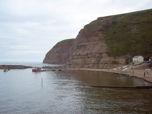 A bit of beach at Staithes