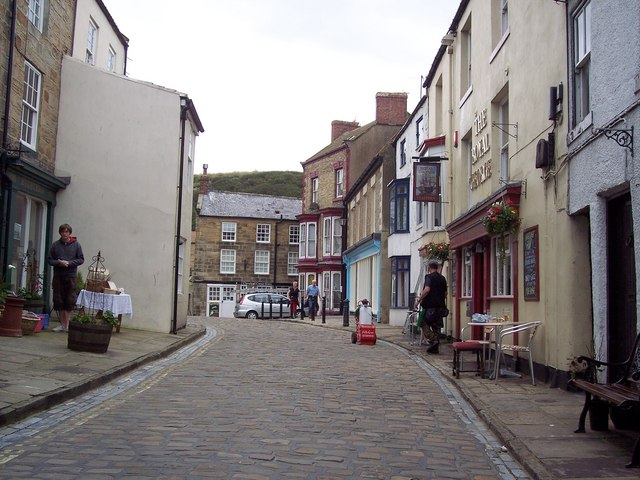 Main street Staithes