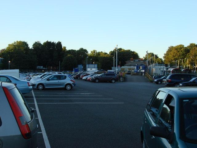 Car Park at Epping Station