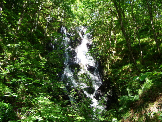 Waterfall in the Wood of Cree