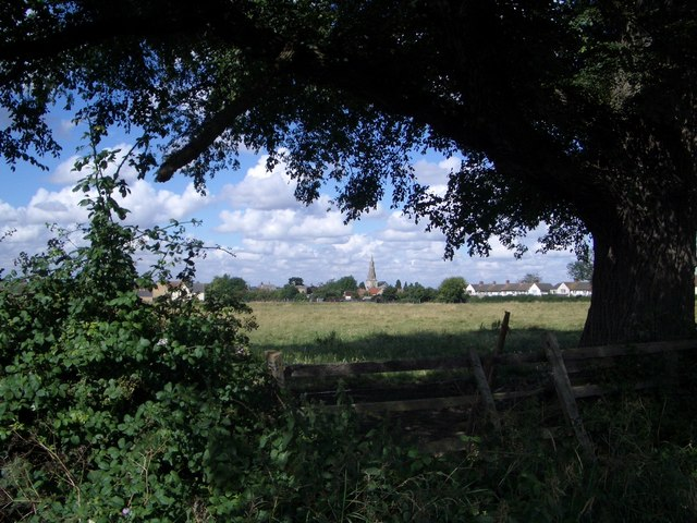 View from Dychurch Lane, Bozeat