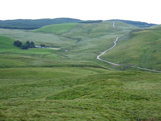 Elenydd Landscape, Nant y Maen, Ceredigion