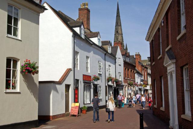 Dam Street, Lichfield