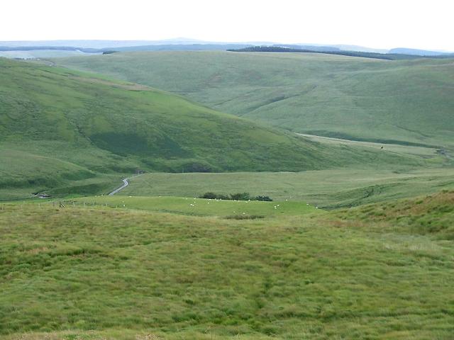 Elenydd Landscape, Cwm Camddwr, Ceredigion