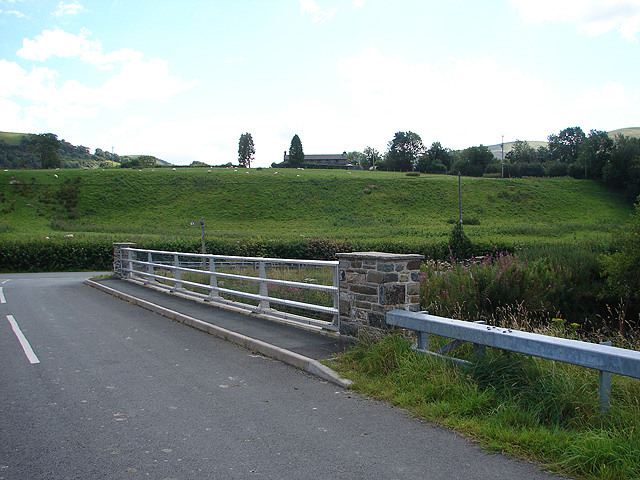 New Bridge over Afon Rhiwsaeson