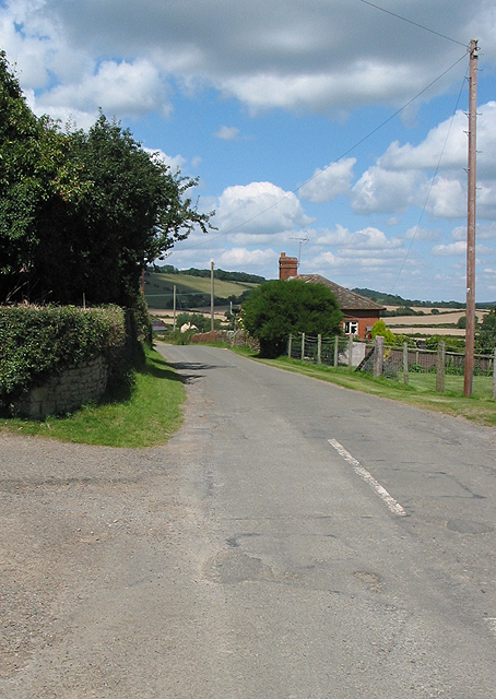 Country road near Eastnor
