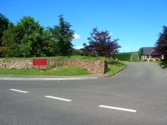 Glynn Valley Crematorium entrance