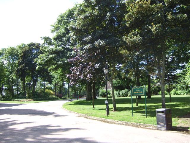 Entrance to Duthie Park
