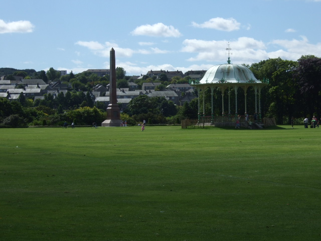 Obelisk and Bandstand