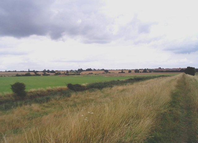 Open country south of Harwich