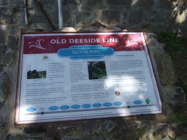 Old Deeside Line, Duthie Park