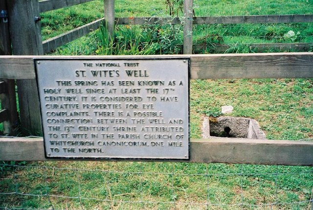 Morcombelake: St. Wite's Well