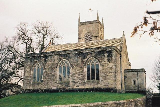 Moreton: parish church of St. Nicholas