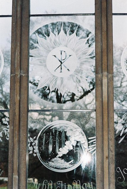 Moreton church windows – № 3