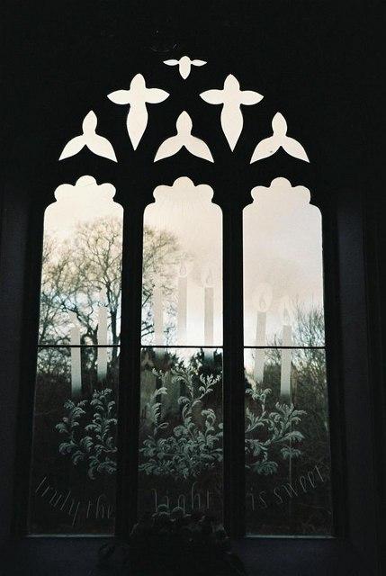 Moreton church windows – № 5