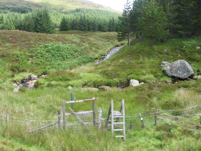 Glashlet Burn and the Rowardennan to Aberfoyle route
