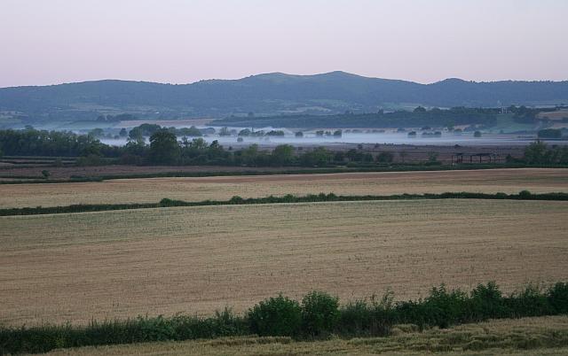 Pre-Dawn Mist over Longdon Marsh