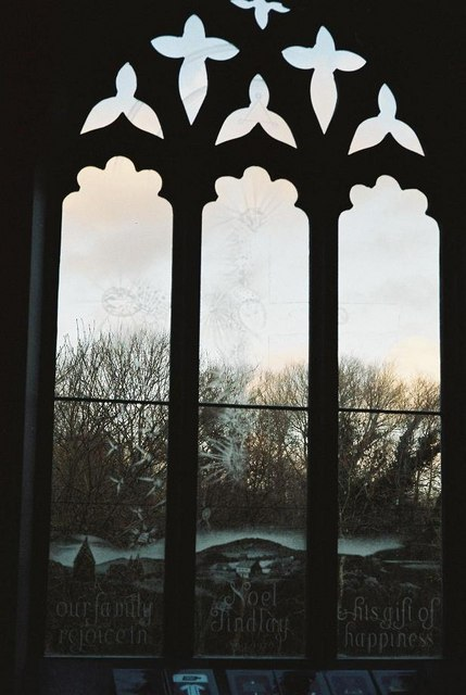 Moreton church windows – № 6