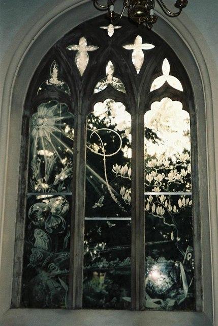 Moreton church windows – № 7