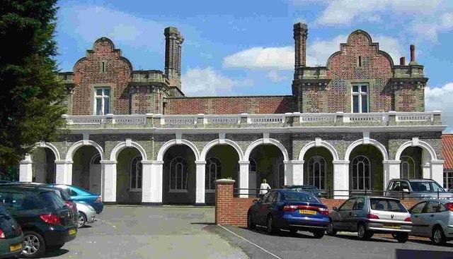 Maldon East Railway Station