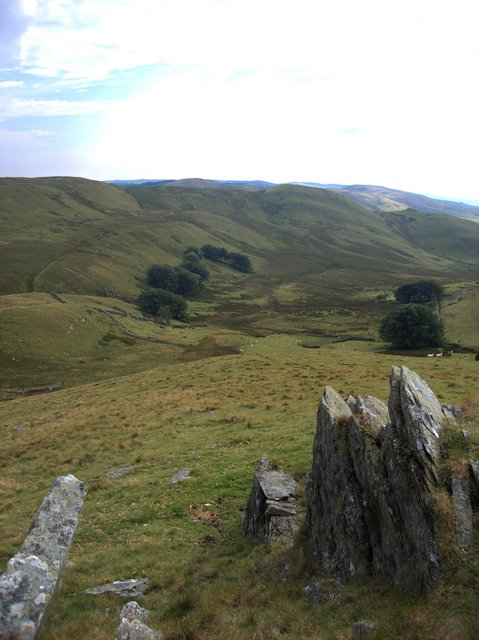 Groes Fechan valley