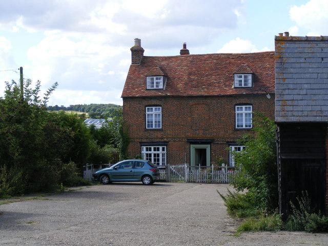 Offley Grange farmhouse