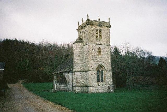 Nether Cerne: parish church of All Saints