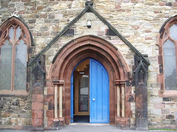 Porch, St Michael's Church, Workington