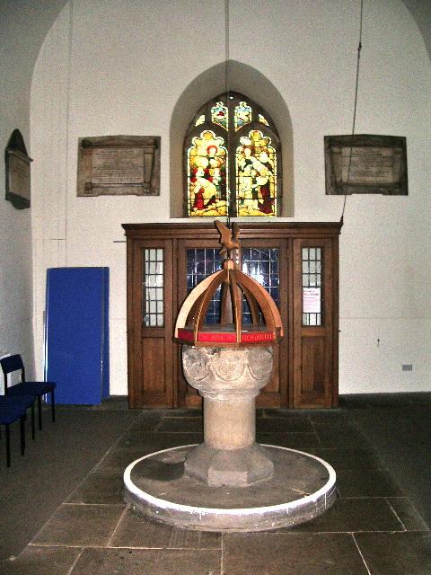 Font, St Michael's Church, Workington