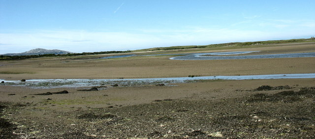 The estuary of Afon Alaw