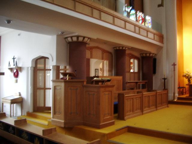 Pulpit, St Michael's Church, Workington