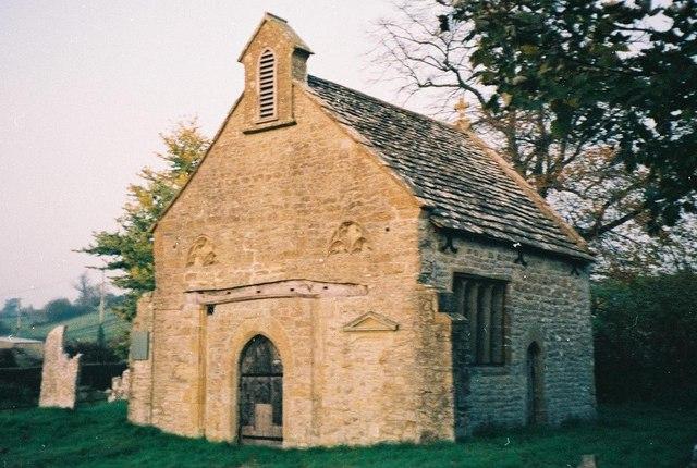 Oborne: old parish church of St. Cuthbert