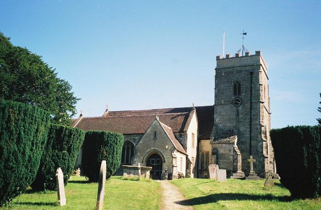 Okeford Fitzpaine: parish church of St. Andrew