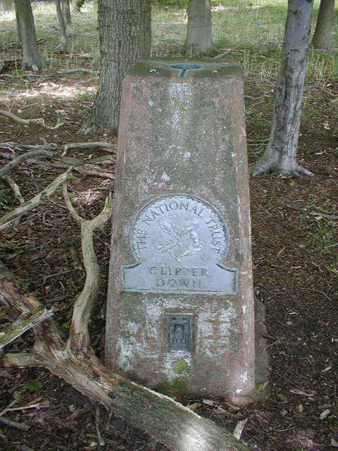 Trig Point at Clipper Down