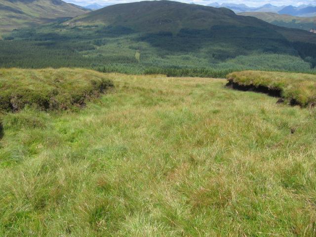 Beinn Uird hillside towards Beinn Bhan