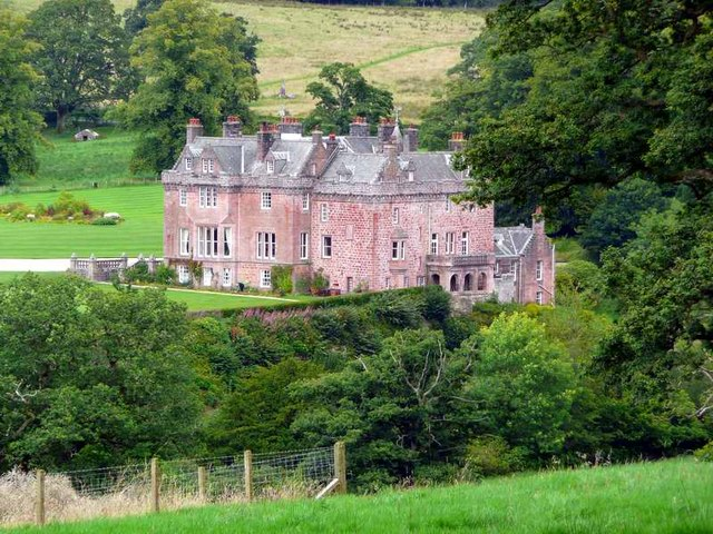 Sorn Castle from the River Ayr Way