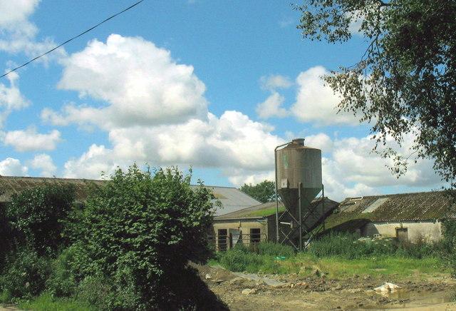 Farm buildings at Cae Uchaf