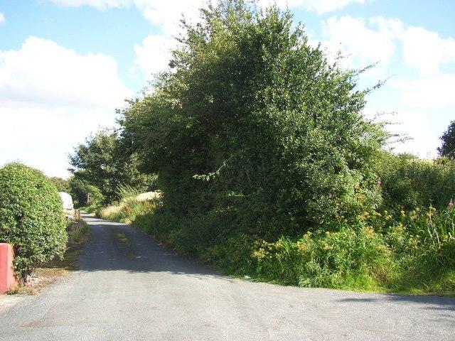 The end of Snelsins Lane, Cleckheaton