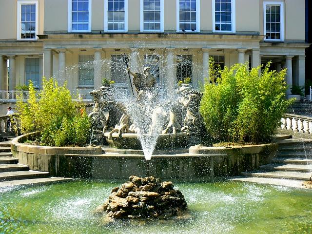 Neptune fountain, Promenade, Cheltenham